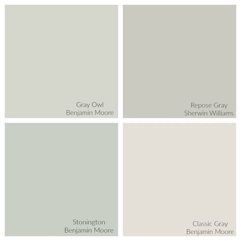 gray paint colors benjamin gray owl color spotlight