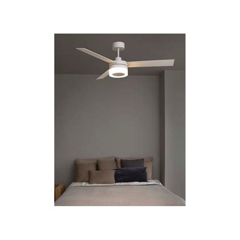 ventilatore da soffitto con telecomando e luce faro ventilatore a soffitto bianco con luce led 3 pale