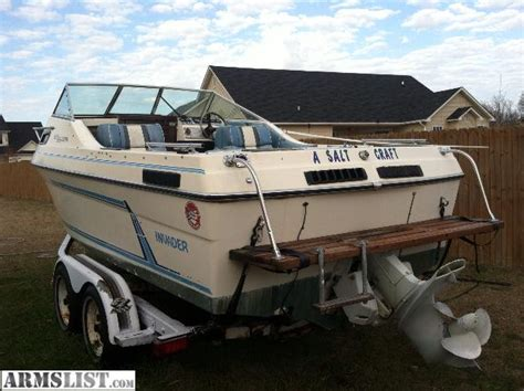 20 Foot Cuddy Cabin Boats For Sale by Armslist For Sale 1984 Invader 20 Foot Cabin Cuddy 225