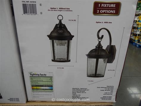 altair outdoor led lantern