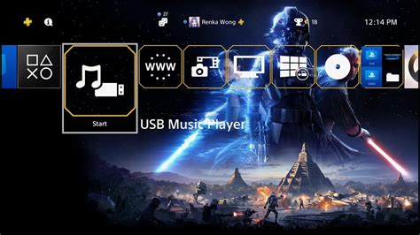 themes ps4 star wars star wars battlefront 2 theme ps4 youtube