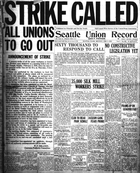 Winnipeg General Strike 1919 Essay by Source Newspaper About The Winnipeg General Strike C 1919 The Winnipeg General Strike Was