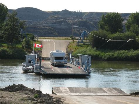 ferry boat edmonton ferry takes an rv with room to spare picture of bleriot