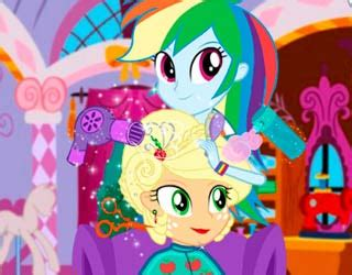Free Hairstyle To Play by Play Free Applejack New Hairstyle