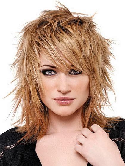 rocker hairstyles for medium length hair layered hairstyles for medium length hair photo of