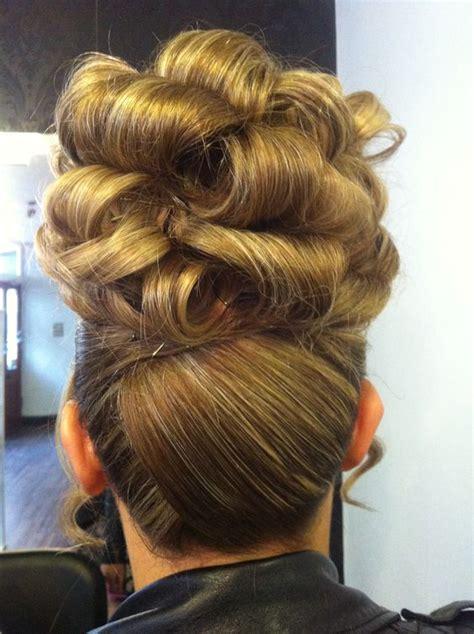 barrel curl hair pieces barrel curl updo hair pinterest updo curls and barrels