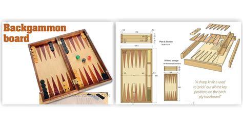 backgammon board woodworking plans backgammon board plans woodarchivist
