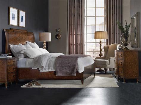 sleigh bed bedroom set hooker furniture skyline wood sleigh bed bedroom set