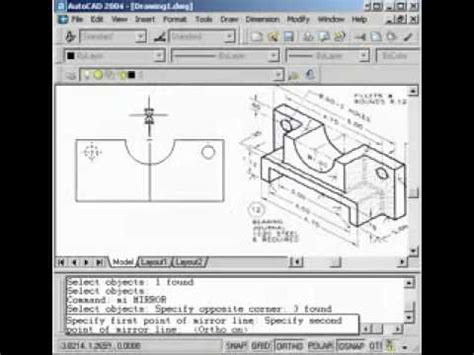 autocad tutorial youtube autocad tutorial 5 journal bearing youtube youtube