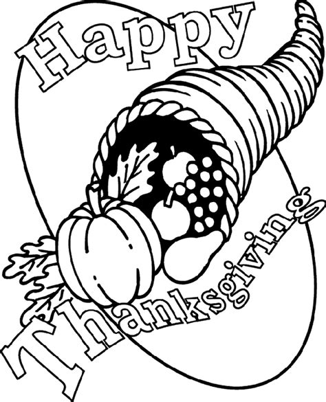 crayola thanksgiving coloring pages printables thanksgiving cornucopia coloring page crayola com