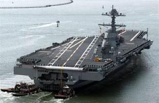 Uss Ford Class Uss Gerald R Ford Cvn 78 Aircraft Carrier Us Navy
