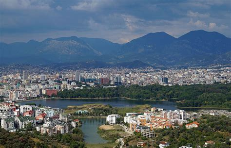 in albania grand park of tirana