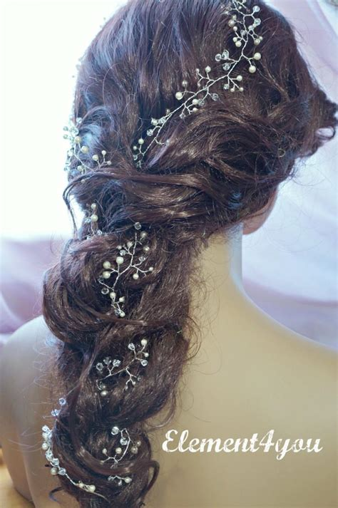 hairstyles with hair vines bridal hair vines extra long hair vines wedding hair