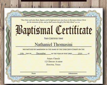 Editable Baptism Certificate Template Pdf Adobe Reader Free Editable Baptism Certificate Template