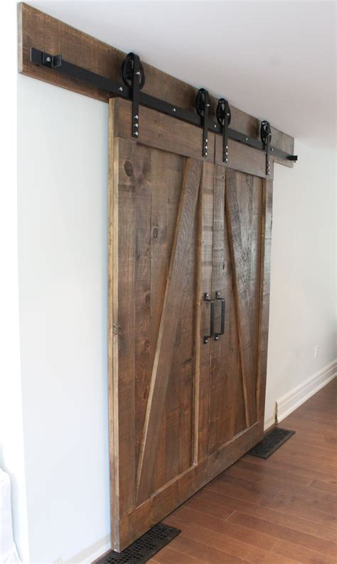 Barn Door Hardware Toronto Byparting Barn Doors By Rebarn Rebarn Toronto Sliding Barn Doors Hardware Mantels
