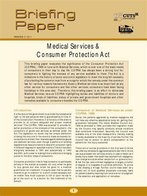 briefing paper11 services and consumer protection