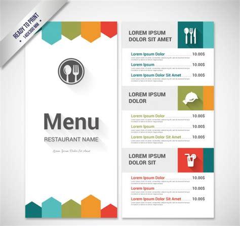 tri fold restaurant food menu template free psd download download psd