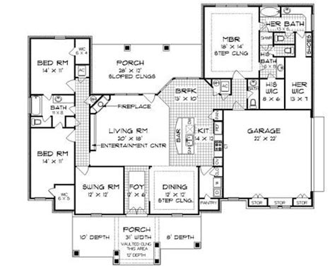 Open Concept Ranch Floor Plans by Open Concept Ranch House Plans New 3 Bedroom Ranch House