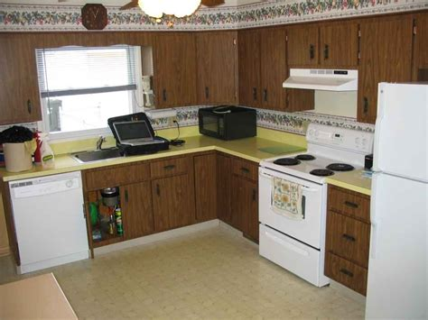 cheap kitchen cabinet ideas traditional kitchen remodel with give away yellow formica