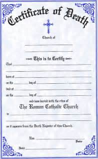 best photos of spanish death certificate templates death