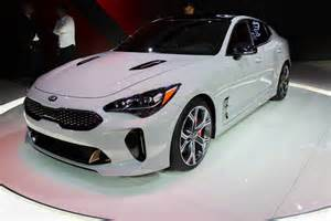 Kia Stinger 2018 Kia Stinger Picture 701471 Car Review Top Speed
