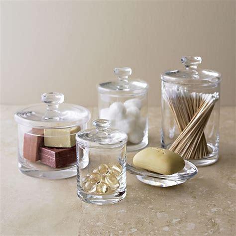 bathroom glass canisters 25 best glass canisters ideas on pinterest bulk food