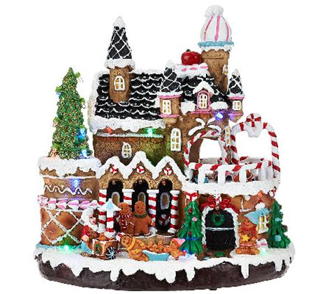 lighted houses outdoor lighted gingerbread house decorations house decor