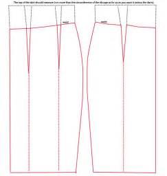 skirt template how to line a pencil skirt dress