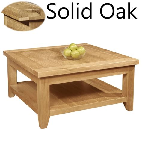 square living room tables panama solid oak living room furniture square coffee table