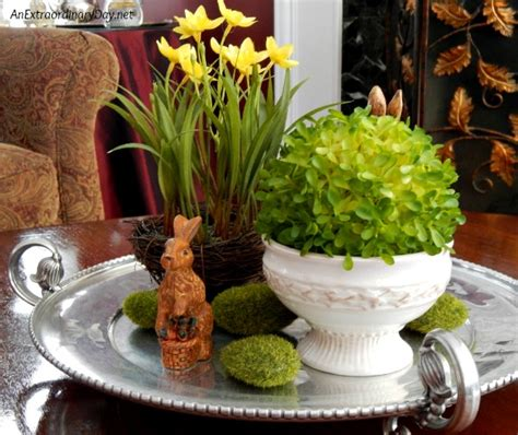 Vignette Home Decor be inspired by this 10 minute easter vignette an