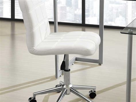 Cheap White Leather Desk Chair One Thousand Designs Cheap White Desk Chair