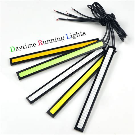 Drl Daytime Running Led 17cm 1pcs ultra bright 17cm 12v daytime running light