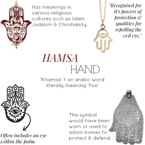 Inspired By  The Hamsa Hand   Muru Jewellery