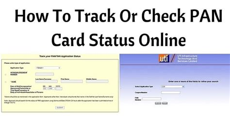 Status Search By Number Pan Card Status Track Your Pan Card Application Status Autos Post