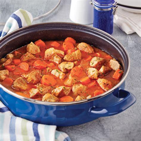 cuisine et mijot駸 mijot 233 de porc 233 pic 233 aux carottes recettes cuisine et