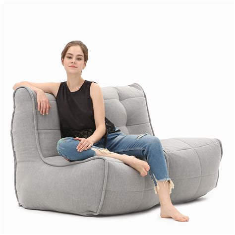 two seater bean bag sofa 2 seater grey sofa designer bean bag couch keystone