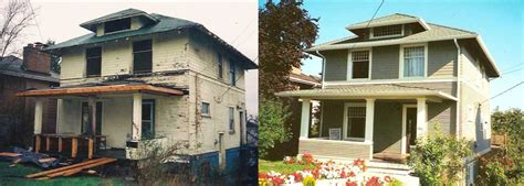 house facade renovation before and after exterior remodel houses before and after inspiration pinterest exterior
