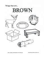 brown coloring pages preschool coloring pages