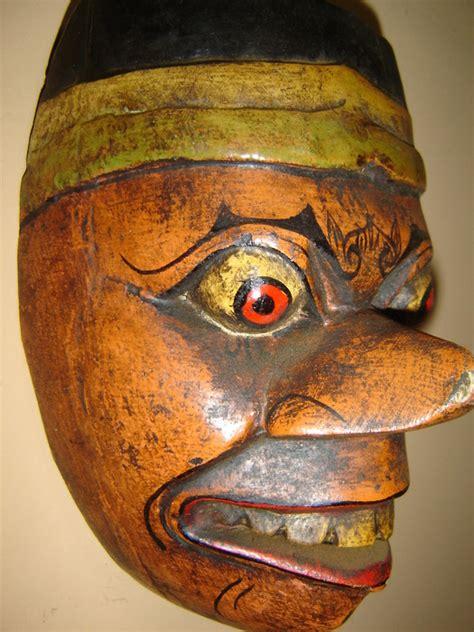 Masker Java oud gezichtsmasker indonesi 235 java tweede helft 20e