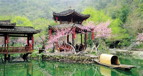 taohuayuan suzhou entering a tale in taohuayuan shanghai daily