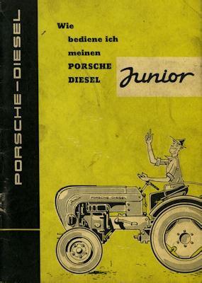 Porsche Diesel Schlepper by Porsche Diesel Schlepper Junior Bedienungsanleitung 10