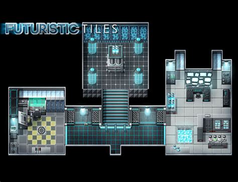 Create Free Floor Plans by Futuristic Tiles Resource Pack Make Your Own Video Game