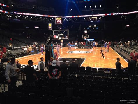 Barclays Center Free Food Sections by Barclays Center Section 31 Nets Rateyourseats