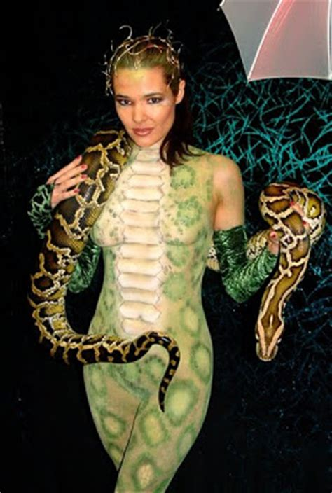 Carpet Python Bite by Curious Funny Photos Pictures Snake And Girls 33 Pics