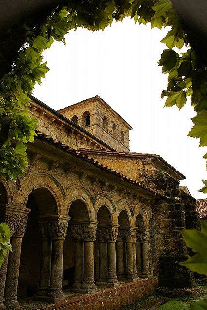 romanesque pilgrimage and spain on pinterest romanesque cloister in santillana del mar repinned from
