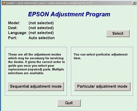 epson l1800 resetter adjustment program adjprog exe epson sx130