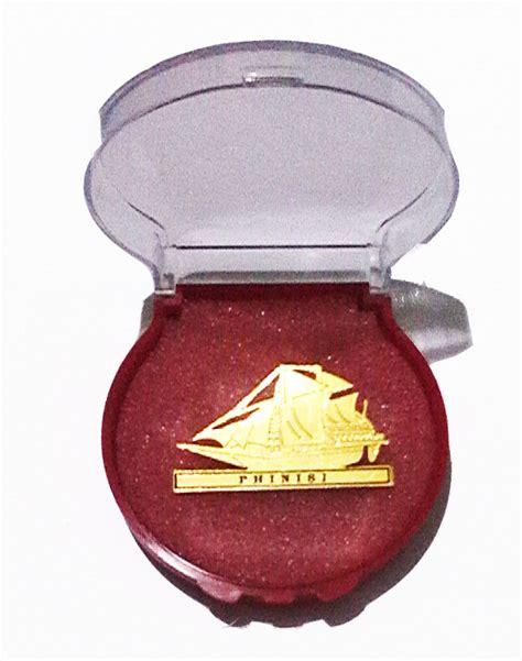 Pin Korpri Asn Logam Kuningan Magnet tanda jabatan lencana dan pin kuningan tanda jabatan