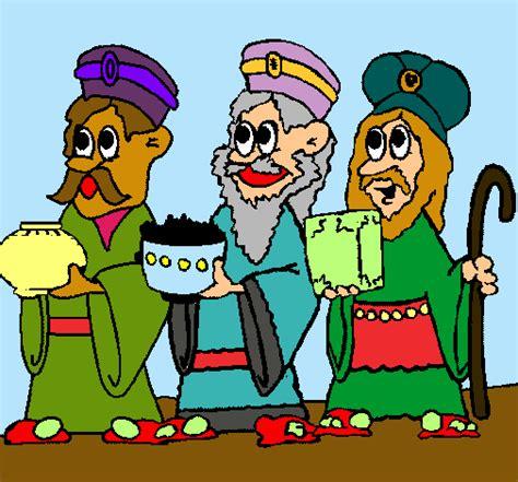 imagenes de reyes magos a color maestra de infantil reyes magos para colorear