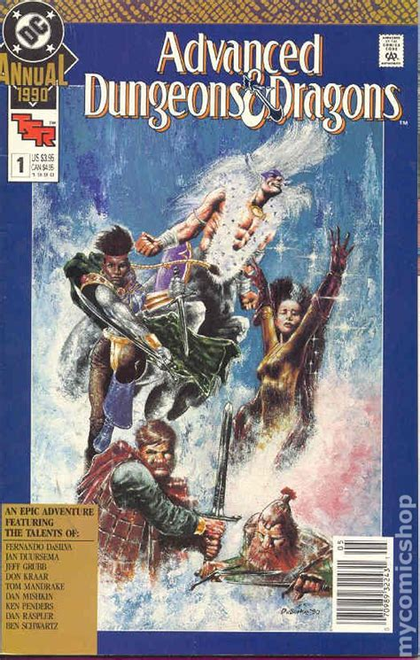 dungeons and dragons comic by advanced dungeons and dragons 1990 annual comic books