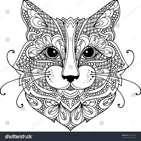 free vector doodle cat stock vector colorful doodle illustration of a